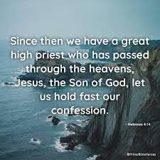 Hebrews 4:14